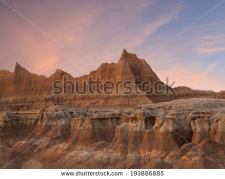 Badlands National Park Stock Photos, Royalty.