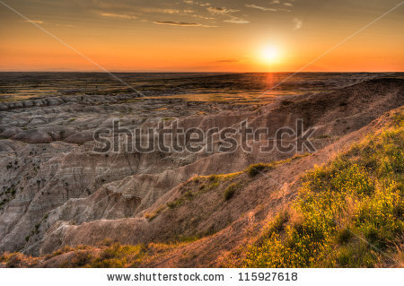 Hay Butte Overlook Sunset.