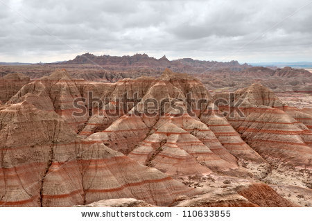 Badlands National Park Stock Images, Royalty.