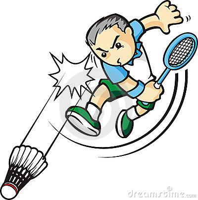 Badminton Sport Logo For Shop, Court Business Or Website Design.