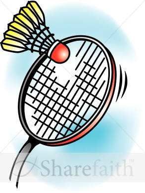 Badminton Clip Art Page 1.