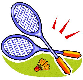 Badminton Clipart.