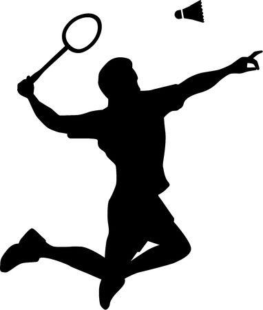 571 Badminton free clipart.