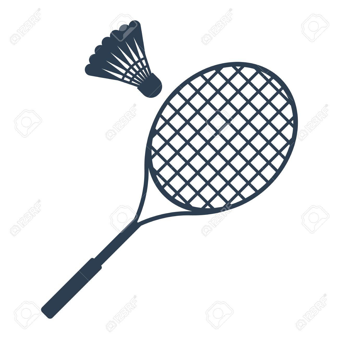 Icon badminton vector » Clipart Station.