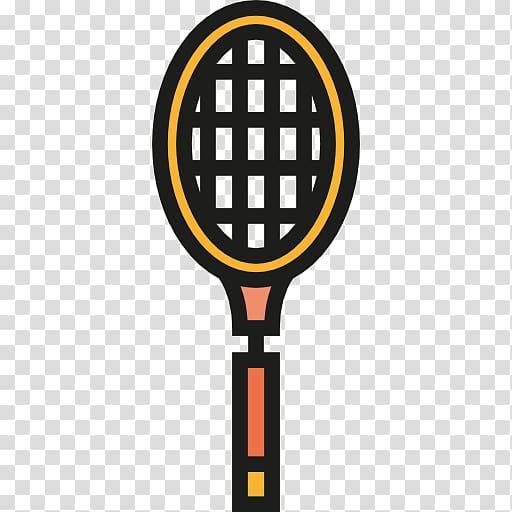 Scalable Graphics Badminton Icon, A badminton racket.