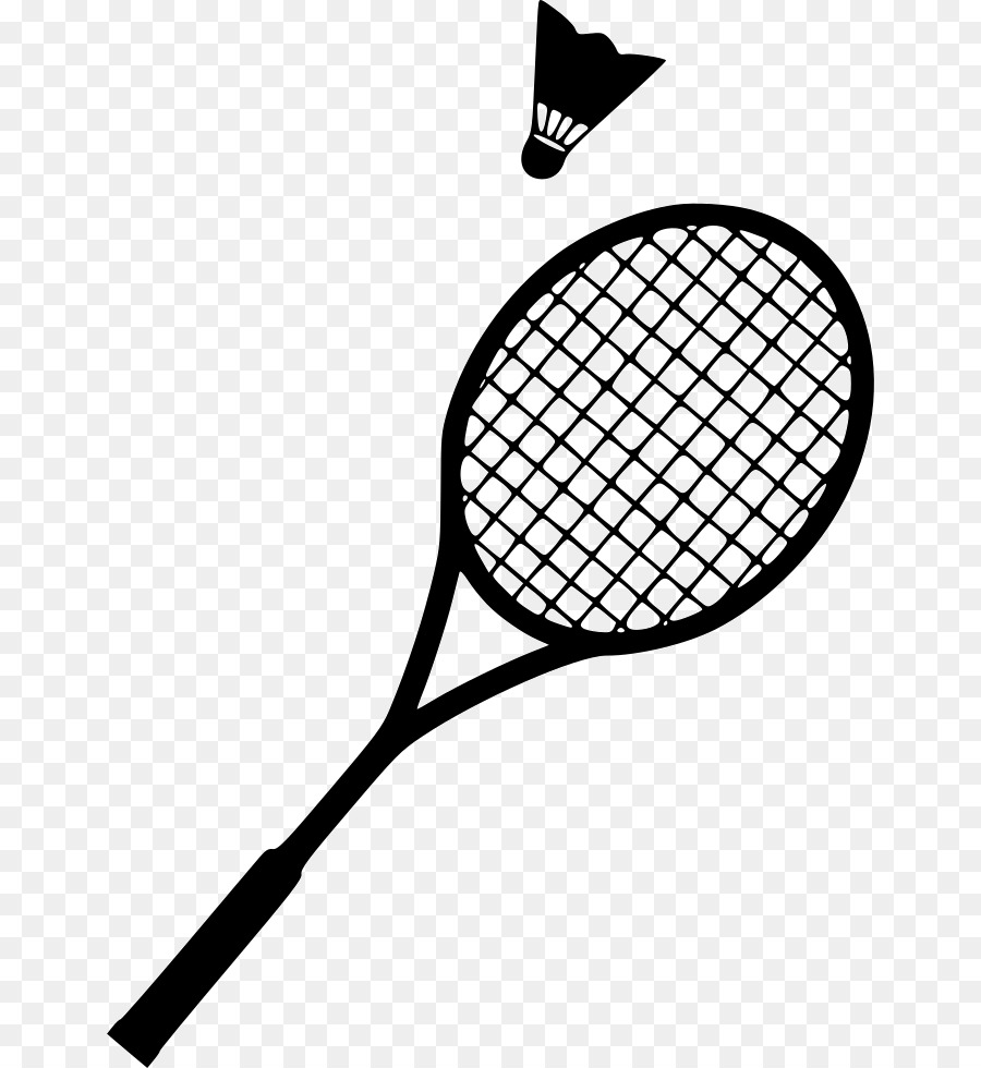 Badminton racket clipart 6 » Clipart Station.