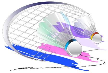 8,743 Badminton Cliparts, Stock Vector And Royalty Free Badminton.