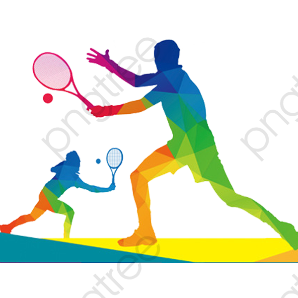Badminton Competition, Badminton Clipart, Cartoon, Hand Painted PNG.