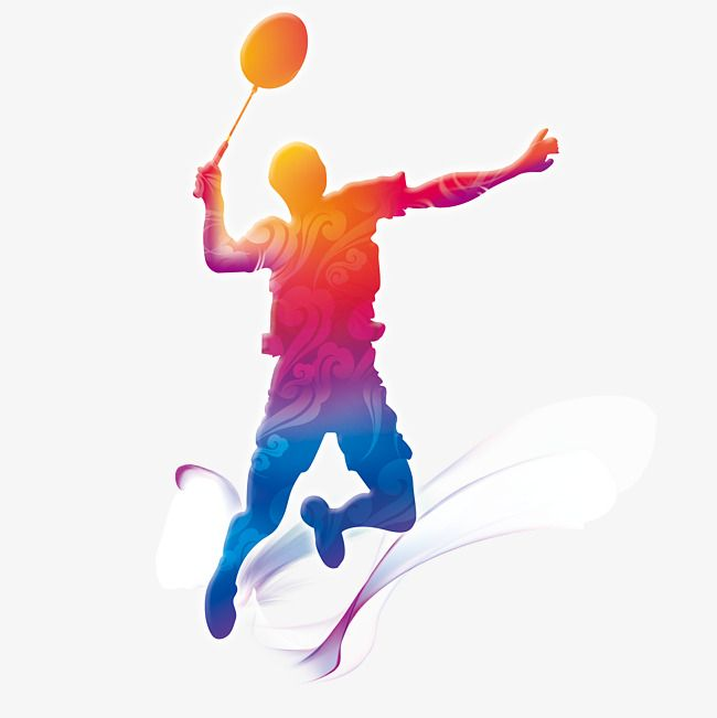Badminton Players Creative, Badminton, Athlete, Play PNG Transparent.