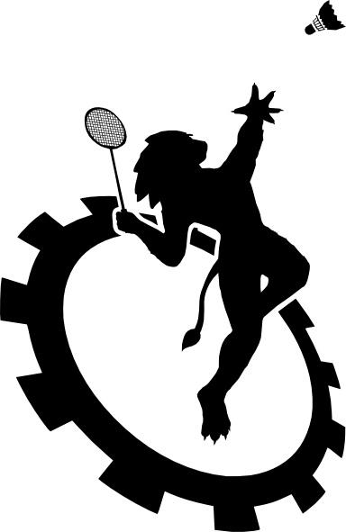 Logo Club Badminton Ecole Centrale De Lyon clip art Free.
