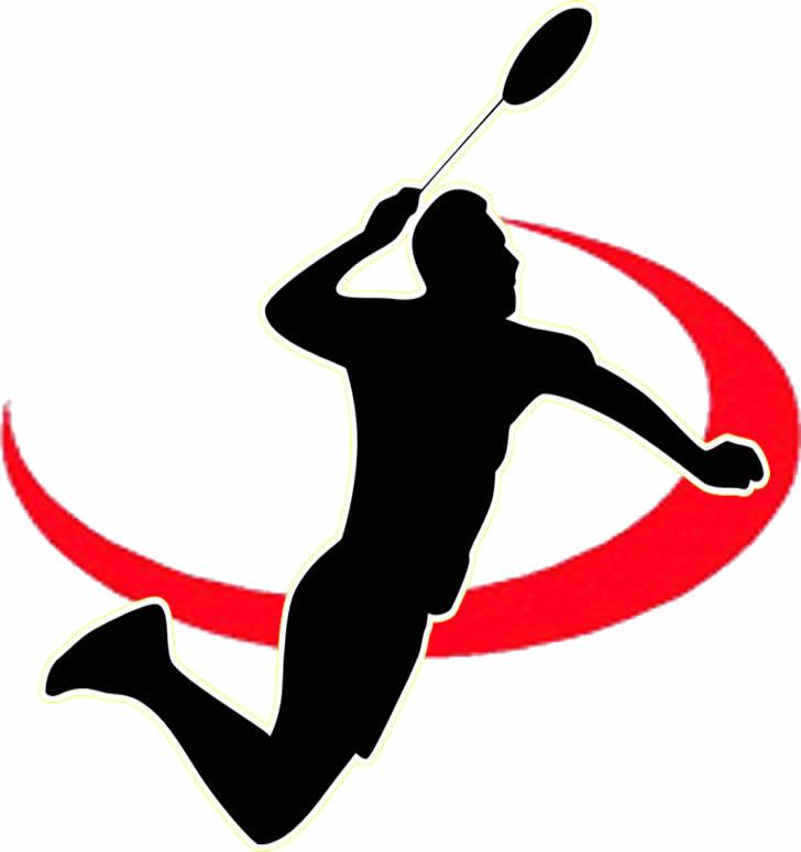 Badminton Logo Clipart.