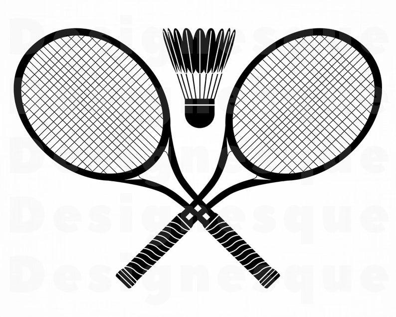 Badminton SVG, Badminton Clipart, Badminton Files for Cricut, Badminton Cut  Files For Silhouette, Badminton Dxf, Png, Eps, Badminton Vector.