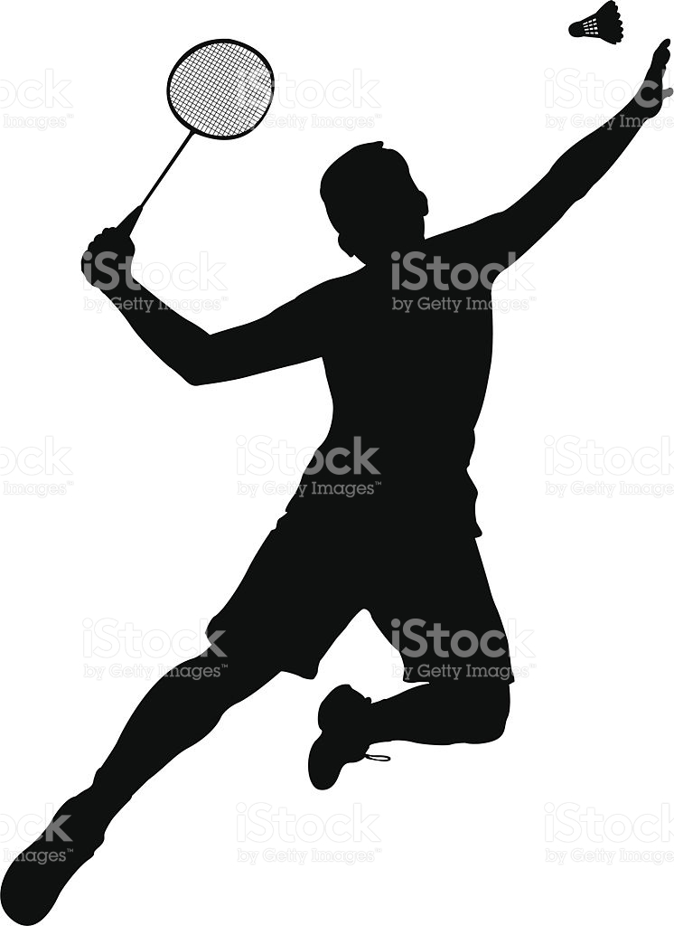 Badminton player clipart 3 » Clipart Station.