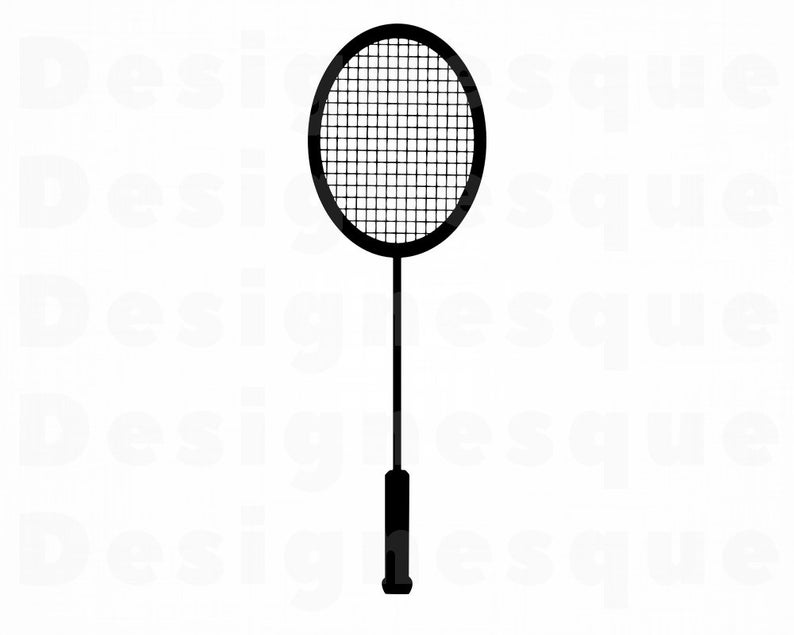 Badminton Racket Svg, Badminton SVG, Badminton Clipart, Badminton Files for  Cricut, Badminton Cut Files For Silhouette, Dxf, Png, Eps Vector.
