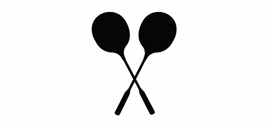 Badminton, Racket, Accessories, Sports Equipment Icon.