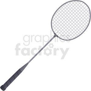 badminton racket vector clipart . Royalty.