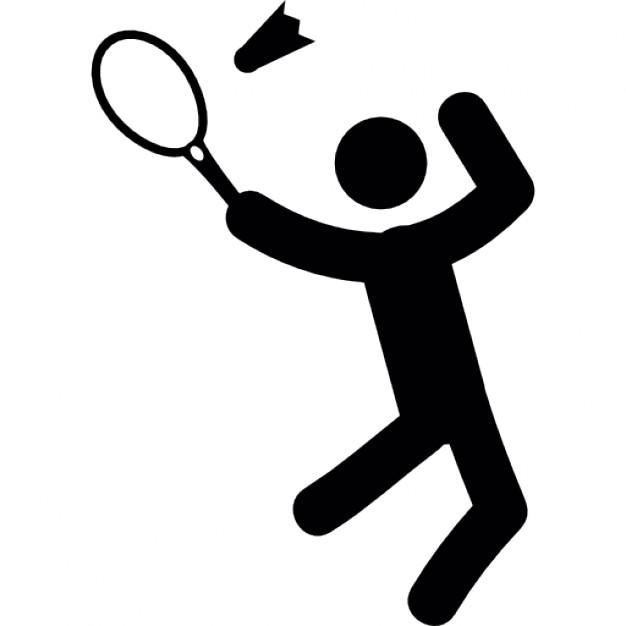 Badminton Free Vector.