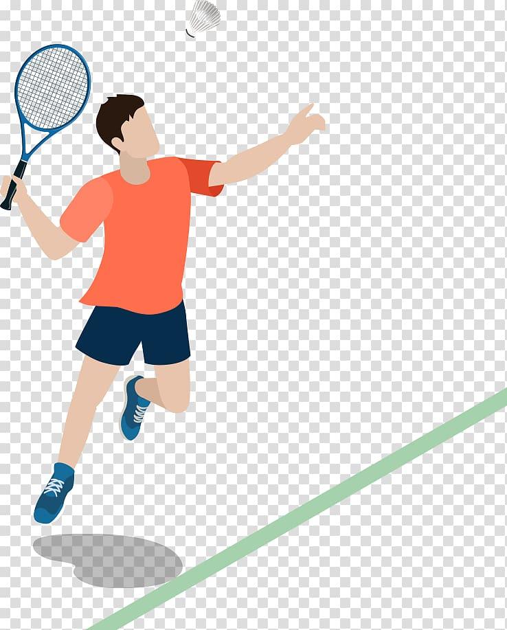 Badminton Computer file, Badminton Men transparent background PNG.