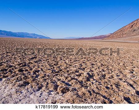 Stock Photograph of Badwater Basin k17819199.