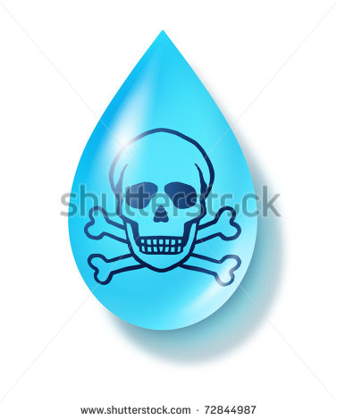 Tap water bad clipart.