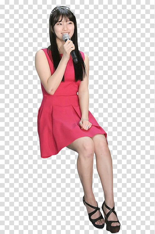 RENDER Bae Suzy Miss A , transparent background PNG clipart.