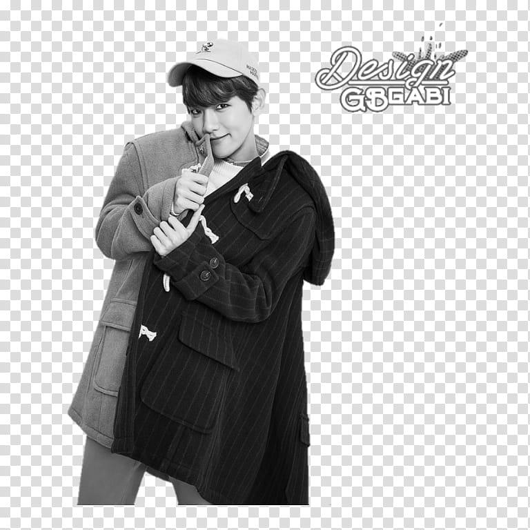 Byun Baekhyun transparent background PNG clipart.