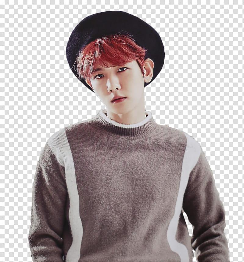 Baekhyun transparent background PNG clipart.