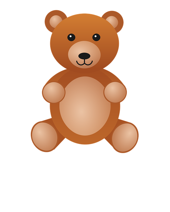 Free vector graphic: Teddy, Toy, Bear, Brown, Fabric.