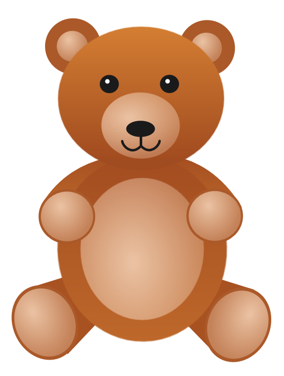 clipartist.net » Clip Art » teddy baer bear Julio 2012 SVG.