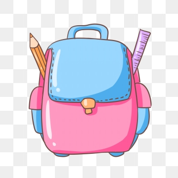 School Bag Png, Vector, PSD, and Clipart With Transparent Background.
