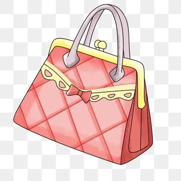 Handbag Cartoon PNG Images.