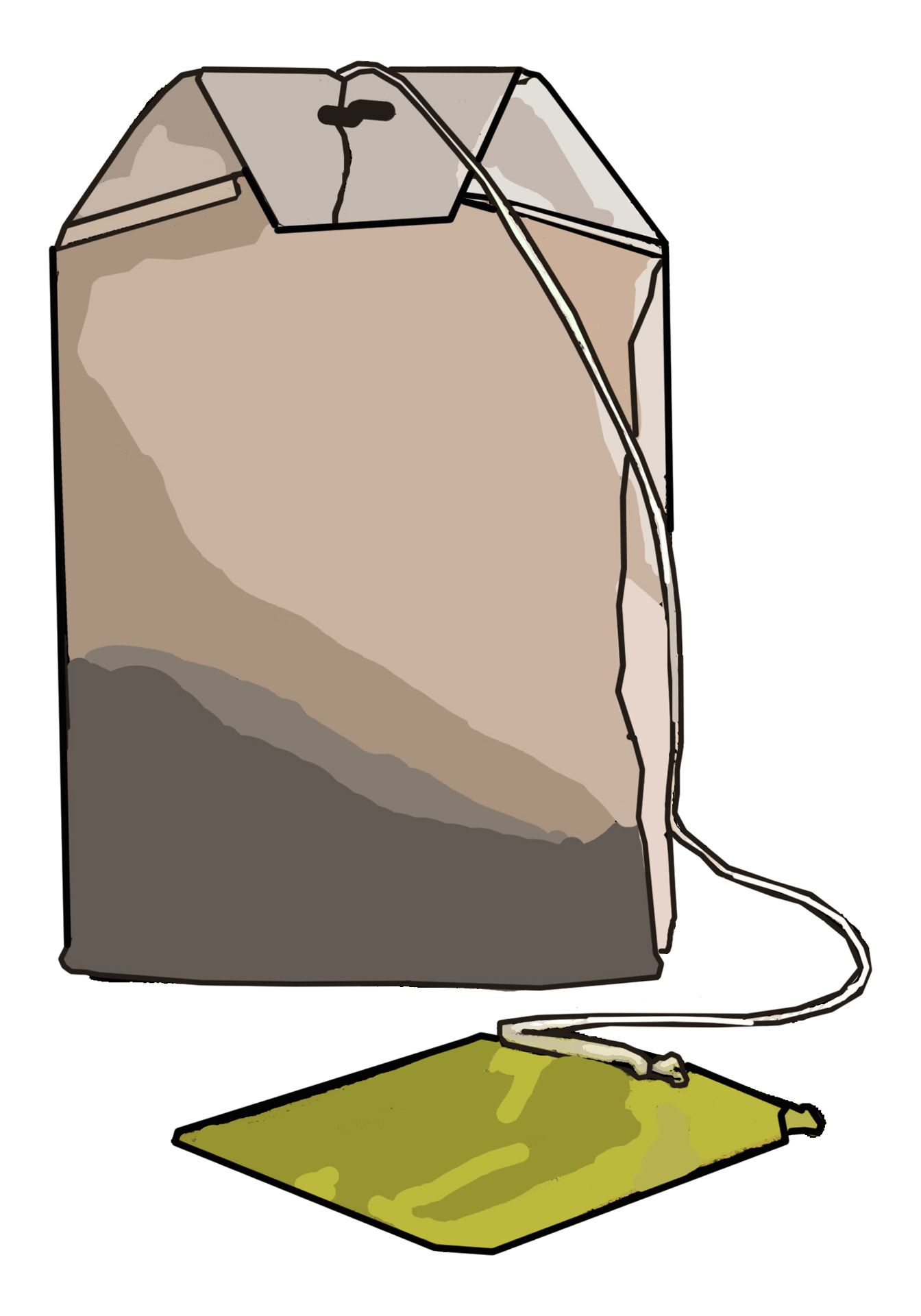 Tea Bag Clip Art Free Stock Photo.