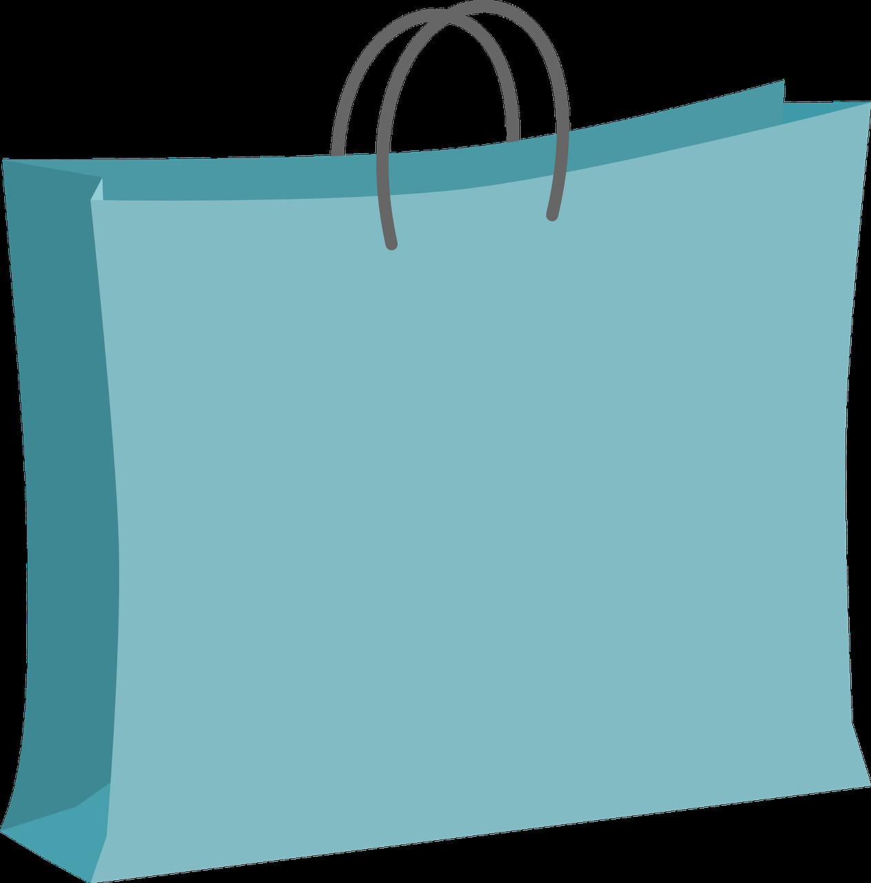 Free to Use & Public Domain Shopping Bag Clip Art.
