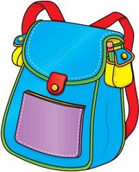 Free Book Bag Clipart.