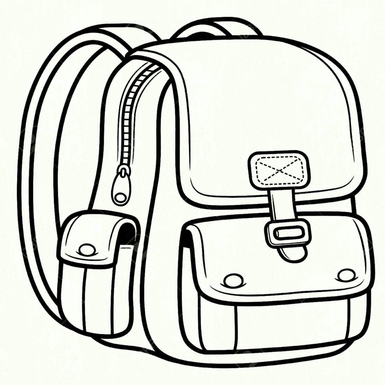 Bags clipart black and white » Clipart Station.