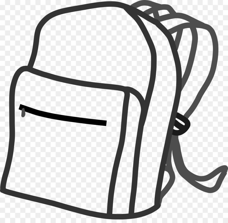 Bag Clip Art Black And White Images.
