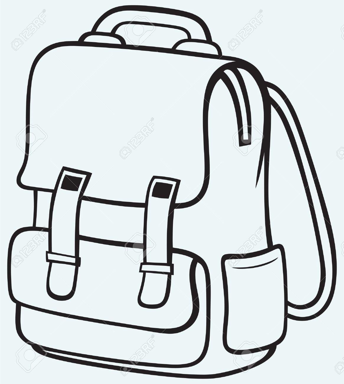 Bag clipart black and white 2 » Clipart Portal.