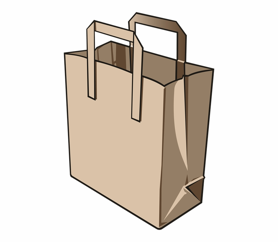 Bag, Paper Bag, Paper, Commissions, Food, Supermarket.