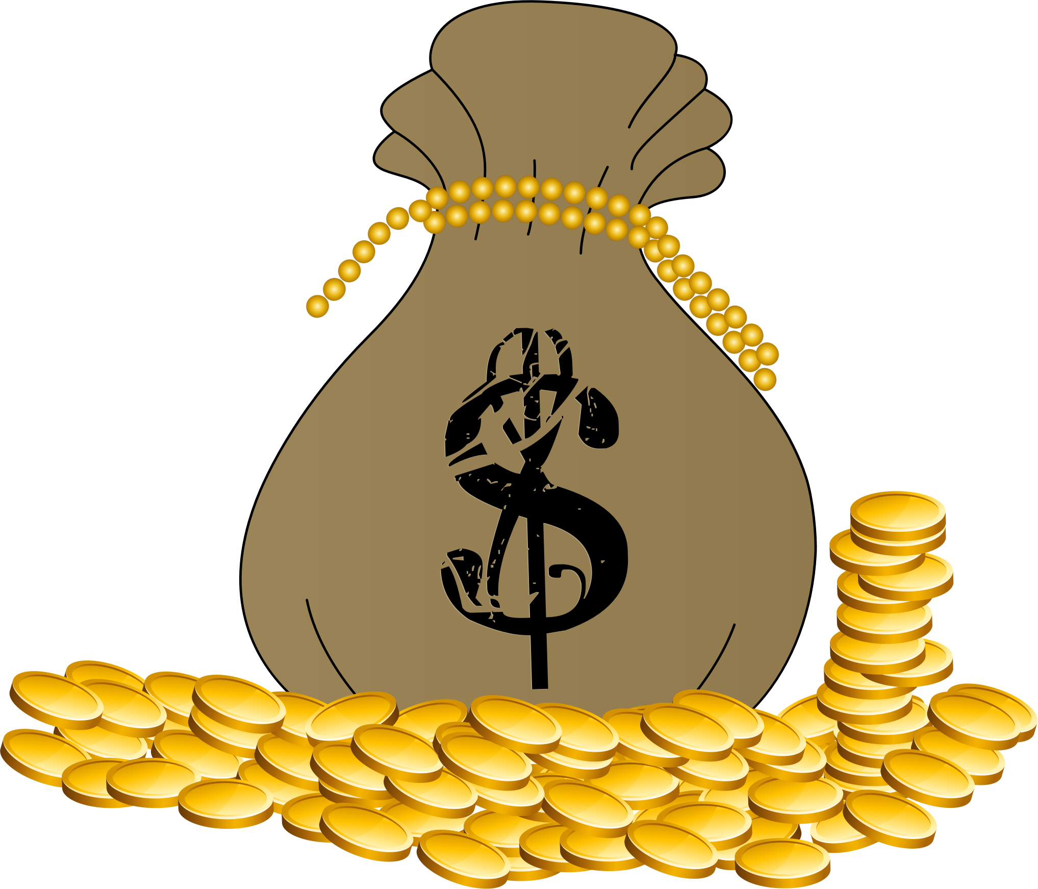 Library of suitcase full of money svg png files.