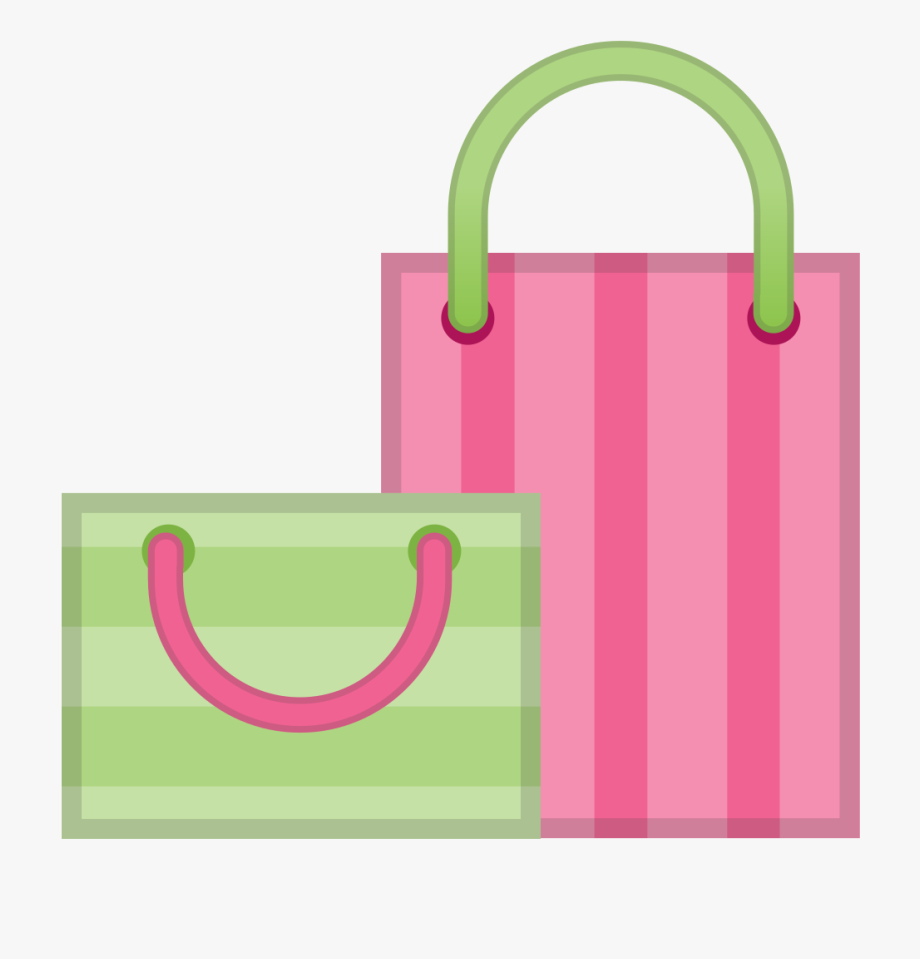 Shopping Bag Clipart Icon Transparent.