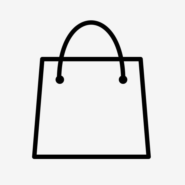 Vector Shopping Bag Icon, Bag, Shop, Shopping Icon PNG and Vector.