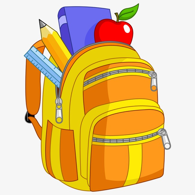 School bag clipart png » Clipart Station.