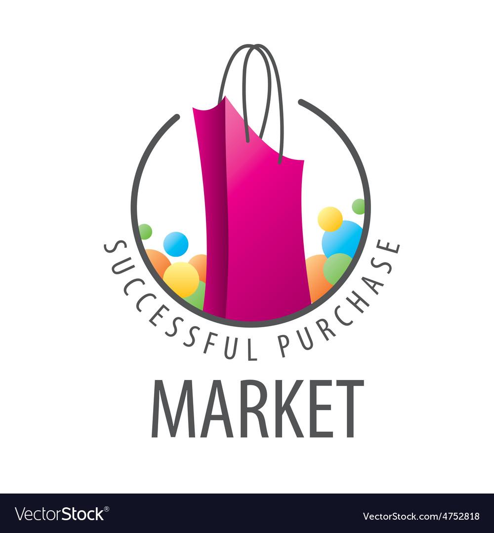 Logo burgundy shopping bag.