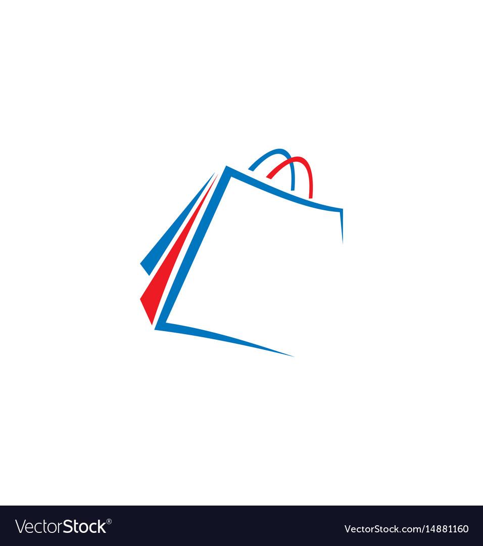 Shopping bag logo.