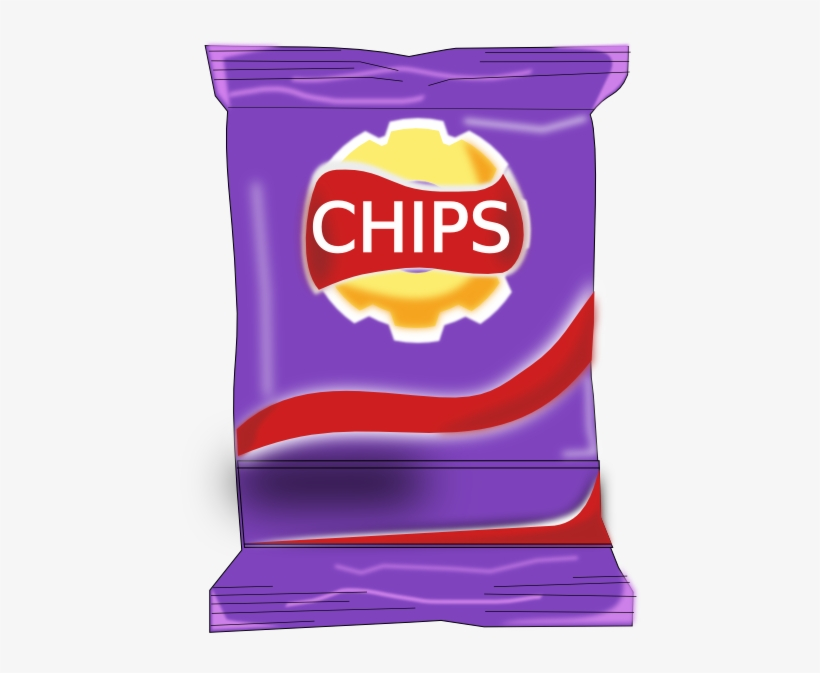 Banner Royalty Free Chips Packet Clip Art At Clker.