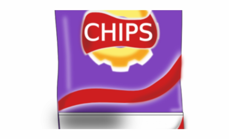 Bag Of Chips Clipart Free PNG Images & Clipart Download #2067291.