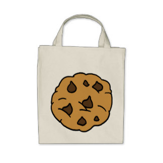Showing post & media for Cartoon chocolate chip bag.