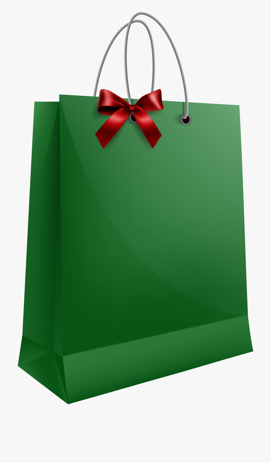 Gift Clipart Christmas Shopping Bag.