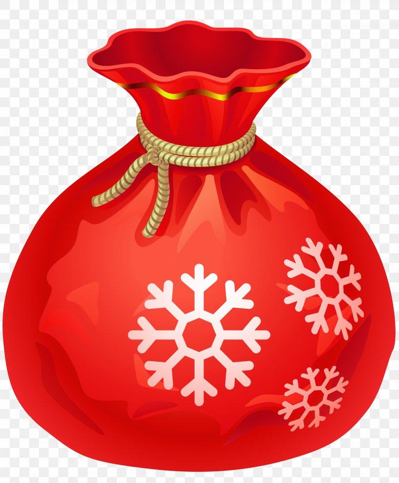 Santa Claus Bag Christmas Clip Art, PNG, 4037x4886px, Santa.