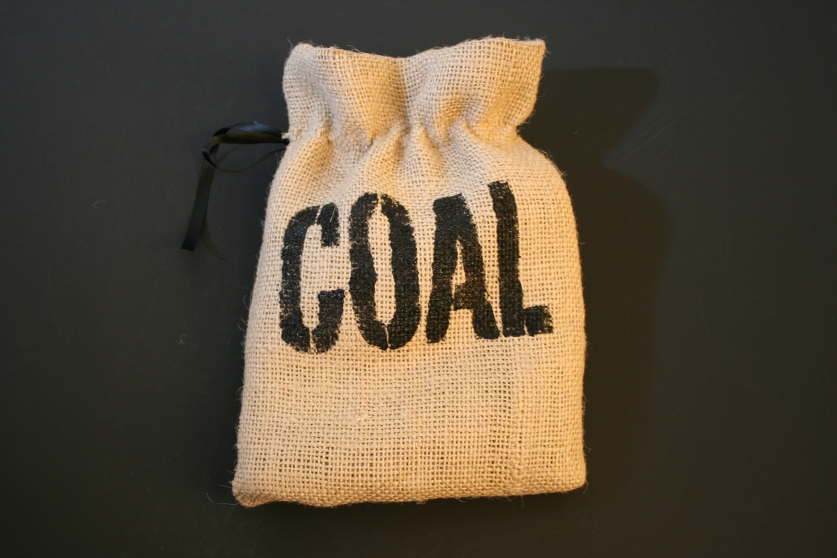 Bag Of Coal Clipart.